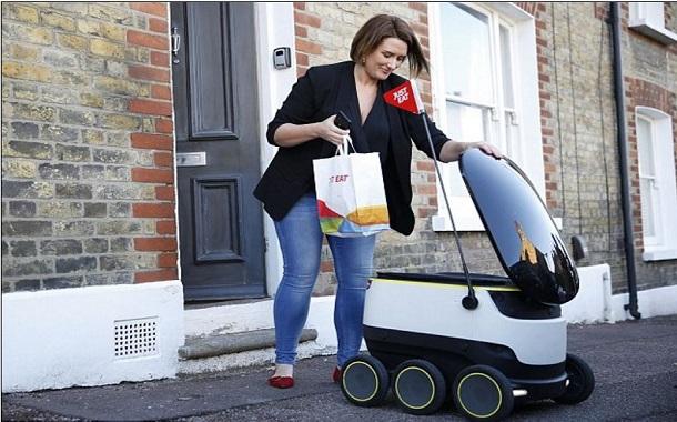 إنطلاق الروبوتات بالشوارع لتوصيل الطلبات للمنازل