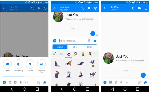 فيسبوك تختبر واجهة جديدة كليًا لتطبيقها ماسنجر
