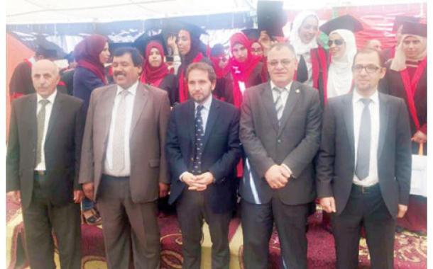 البنك الإسلامي يستمر بتكريم خريجي أكاديمية المكفوفين
