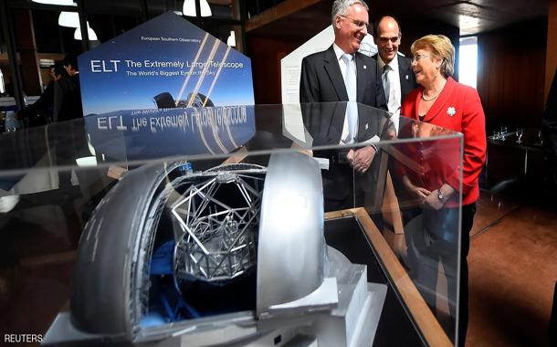 بدء إنشاء تلسكوب
