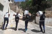 نادي متطوعي أورانج يوزع طروداً غذائية على الأسر العفيفة