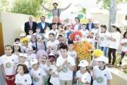 بنك القاهرة عمان يرسم الفرح على الأطفال المرضى بالسرطان