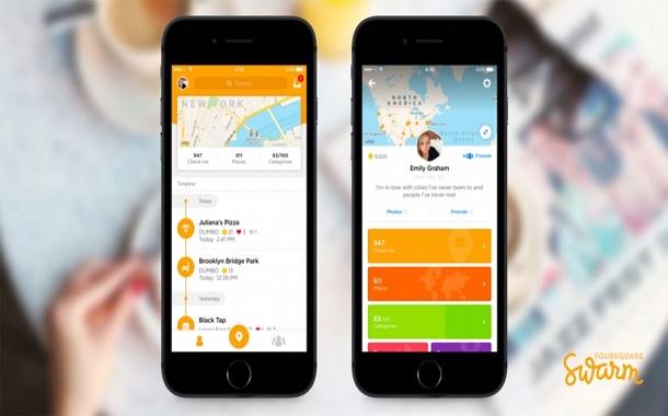 الإصدار الخامس من تطبيق Swarm بتصميم جديد وأدوات سياحية اجتماعية