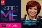 """أسبوع على إنطلاقة"""" ADOBE INSPIRE ME ″ ..... المؤتمر ينعقد برعاية وزيرة الاتصالات وتكنولوجيا المعلومات"""