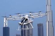دبي تختبر أول رحلة للتاكسي الطائر بلا قائد