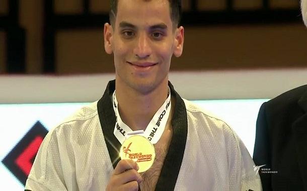 أبو غوش يحرز ذهبية الجائزة الكبرى للتايكواندو في لندن