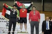 ذهبية للأردن في ختام بطولة غرب آسيا لرفع الأثقال