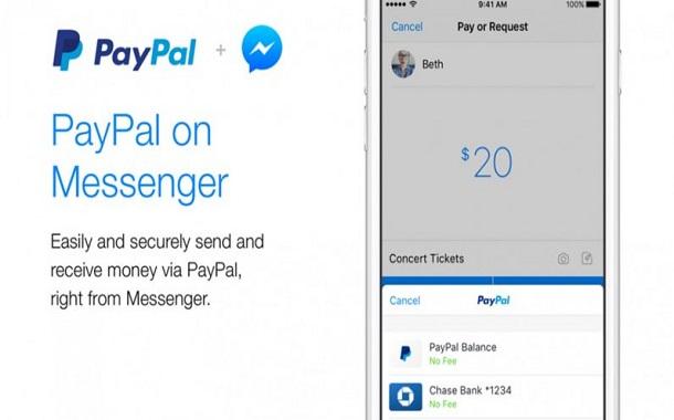 الآن يمكنك الدفع داخل مسنجر فيسبوك عبر باي بال