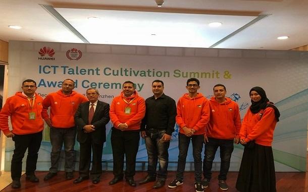 ابو دبسة تترأس فريق الأردن الفائز بالمركز الثالث عالمياً في مسابقة هواوي في الصين