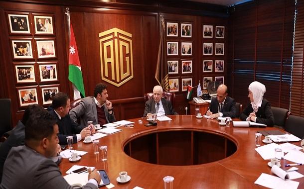 أبوغزاله يبحث سبل تطوير أعمال الهيئة العربية للبث الفضائي
