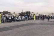 أمنية تدعم مسيرة دراجات نارية لمساندة الشعب الفلسطيني
