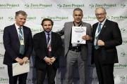 زين الأردن تحصل على جائزة تكريمية من مؤسسة إيسل في مقر الأمم المتحدة