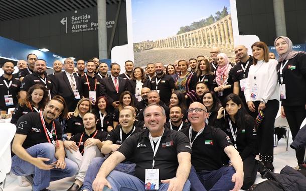 إفتتاح الجناح الأردني في مؤتمر الإتصالات الدولي ببرشلونة