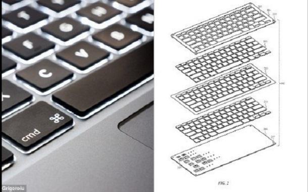 أول لوحة مفاتيح في العالم طاردة لفتات الطعام والسوائل