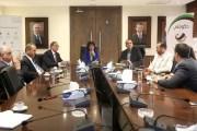 وزيرة الاتصالات تلتقي رئيس جامعة الحسين التقنية