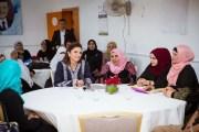 الملكة رانيا تزور قرية حيان الرويبض في المفرق وتتفقد الواقع التعليمي والتنموي