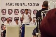 انطلاقة أكاديمية 6 Yard لتعليم كرة القدم