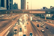 لوحة سيارة ذكية في دبي