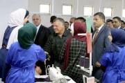 الملك يزور مصنع شركة جرش لصناعة الملابس والأزياء بمناسبة عيد العمال