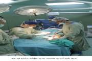 فريق طبي أردني متخصص يجري عمليات جراحية في غزة