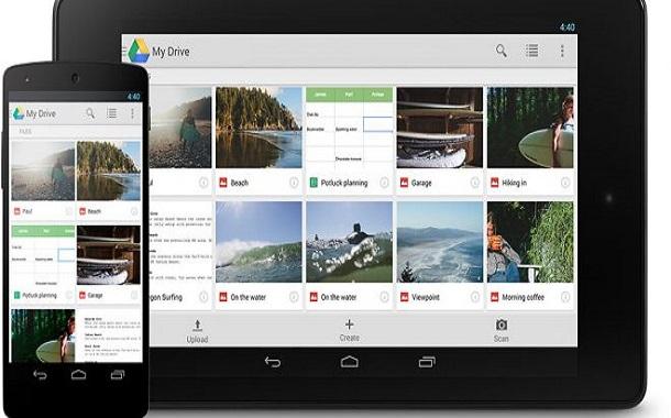 جوجل درايف تصل الى مليار مستخدم