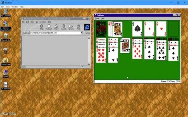 عودة ويندوز 95
