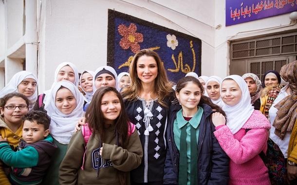 الملكة رانيا........... مساهمات مستمرة لبناء القدرات وتنمية المجتمعات
