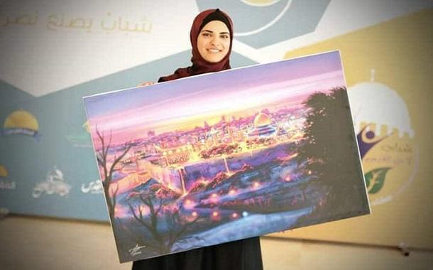 الفنانة بيان زريقات: رسمت بشغفها وألوانها طريقاً للنجاح منذ الصغر