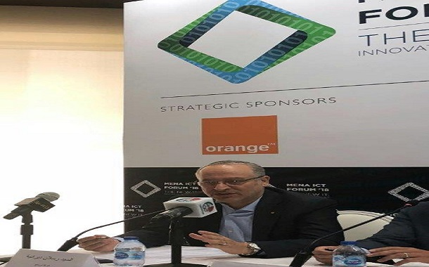 اورانج شريكا استراتيجيالمنتدى الاتصالات وتكنولوجيا المعلومات2018