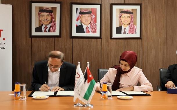 اتفاقية تعاونمشتركبين جامعة الحسين التقنية ومؤسسة يوريكا للتعليم التكنولوجي - صور