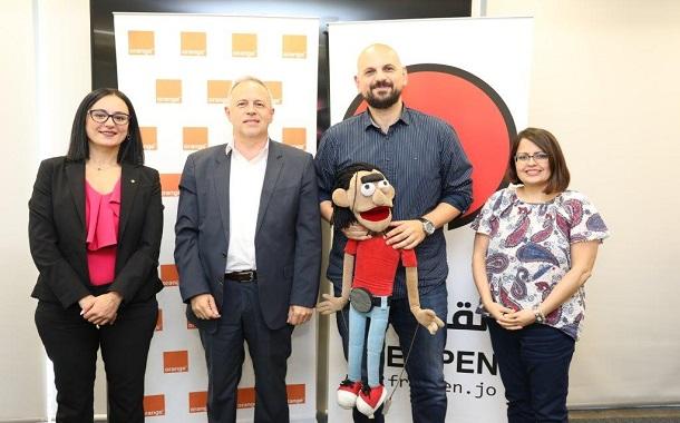 اورانج الأردن تجدد توقيع اتفاقية تعاون مع رسام الكاريكاتير عمر العبداللات