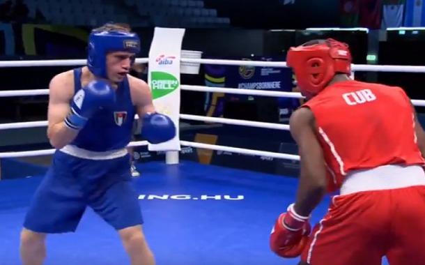 الملاكم بدر سمرين يحرز ميدالية برونزية تاريخية للأردن في بطولة العالم للشباب