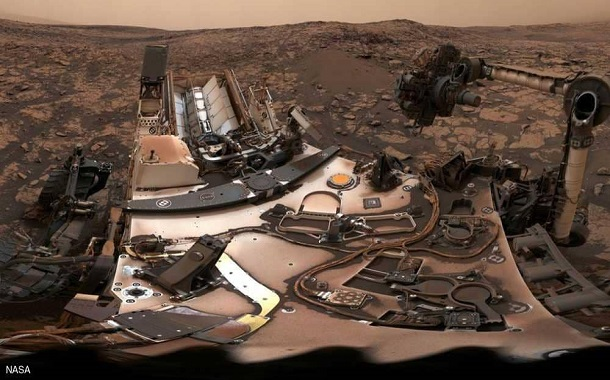 سيلفي من المريخ......... لا أحد يستطيع أن يفعلها غيرها