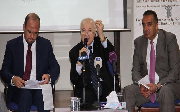 ملتقى أبوغزاله يستضيف جلسة حوارية توصي بتأجيل إقرار مشروع قانون الضريبة