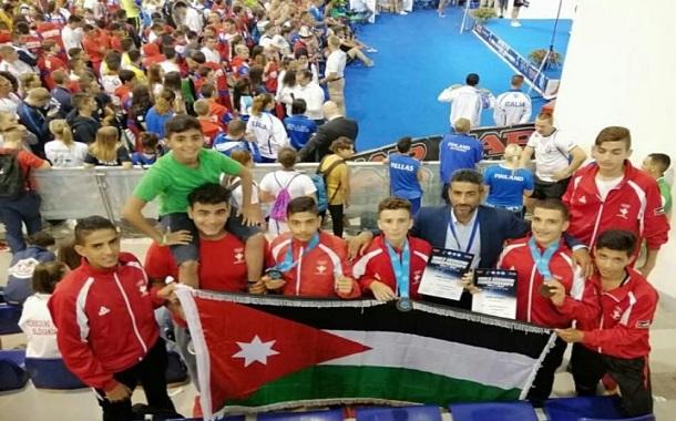 ٣ ميداليات برونزية للأردن في بطولة العالم للناشئين والشباب للكيك بوكسينج
