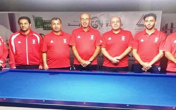 ست ميداليات حصيلة منتخب البلياردو في البطولة العربية
