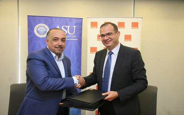 اورانجالأردن تدعم صندوق الطالب الفقير بالتعاون مع جامعة العلوم التطبيقية