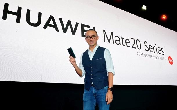 هواوي تعلن عن أسعار هواتف Mate 20 خلال احتفال إطلاقها المنطقة