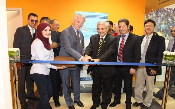 افتتاح مقر جامعة اريزونا الامريكية في جامعة الاميرة سمية للتكنولوجيا