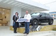 INVESTBANK يعلن اسم الفائز بسيارة المرسيدس مرسيدس GLC كوبيه موديل 2019 في حملة البطاقات الائتمانية الترويجية