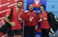 فضيتان وبرونزية للأردن في بطولة جنوب أفريقيا للريشة الطائرة