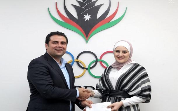 اللجنة الأولمبية تُكرم بشرى الشعيبي بعد إنجازها الكبير في أولمبياد الشطرنج