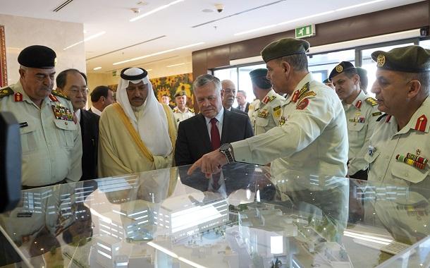 الملك يفتتح التوسعة الجديدة لمستشفى الملكة علياء العسكري بعد استكمال تحديثه وإعادة تأهيله