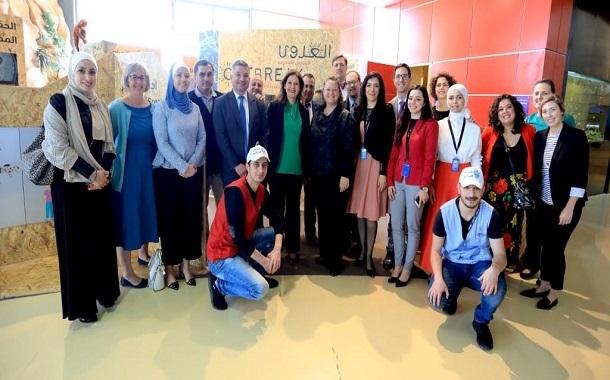 متحف الأطفال الأردن يفتتح المعرض التعليمي المؤقت
