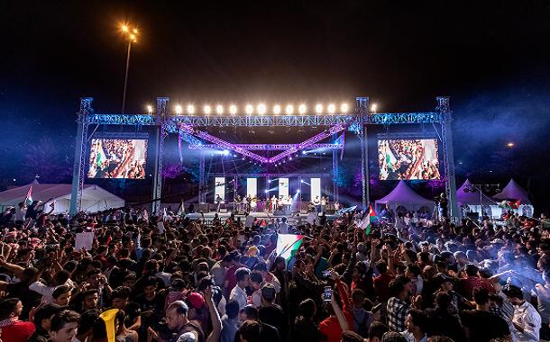 زين تشارك 50 ألف مواطن بالاحتفال في العيد الثالث والسبعين لاستقلال المملكة- صور