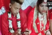الهند ....... عريس يترك عروسه ليلعب لعبة الكترونية على هاتفه الذكي في لحظات زفافه- فيديو