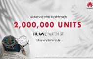 مبيعات الساعة HUAWEI WATCH GT تتجاوز مليوني وحدة  ونمو سنوي هائل بنسبة 282.2%