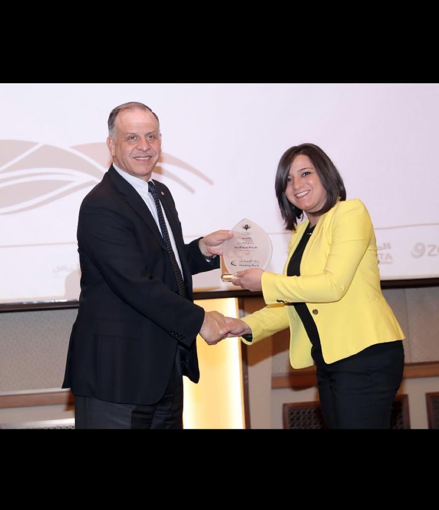 الأمير فيصل يكرم بنك الإسكان لدعمه اللجنة الأولمبية الأردنية