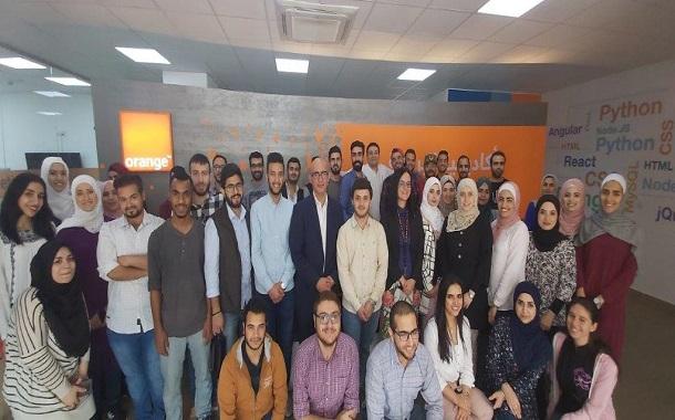 Orange الأردن تنظم ورشة عمل عن التكنولوجيا الحديثة لطلاب أكاديمية البرمجة
