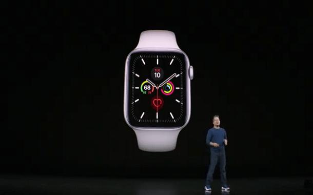 مؤتمر آبل: الكشف عن Apple Watch Series 5 بميزات جديدة